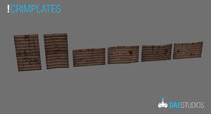 crimplates peekplate stakes 3d model