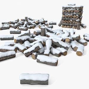 wooden heat 3d model