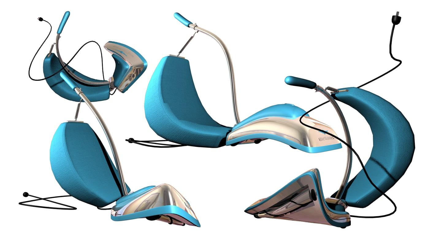 3d model vacuum toon cartoon