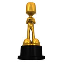 golden award 3d model