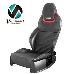 3d 3ds octavia rs iii car seat