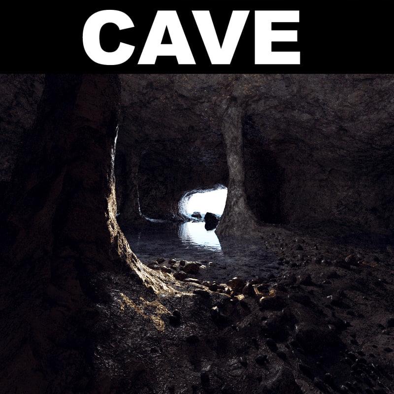 cave landscape max