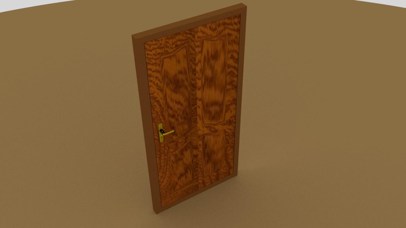 door griff room 3d blend