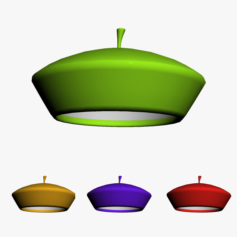 fruit cap 3d model