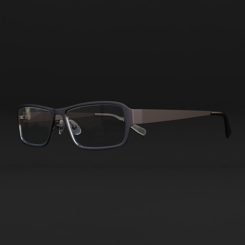 3d realistic glasses ray-ban