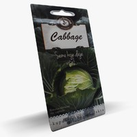 cabbage pouch 3d max