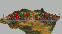 3dsmax terrain realistic
