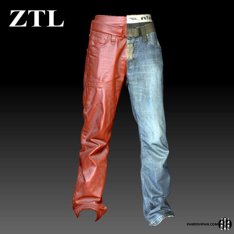 obj scan male jeans pants