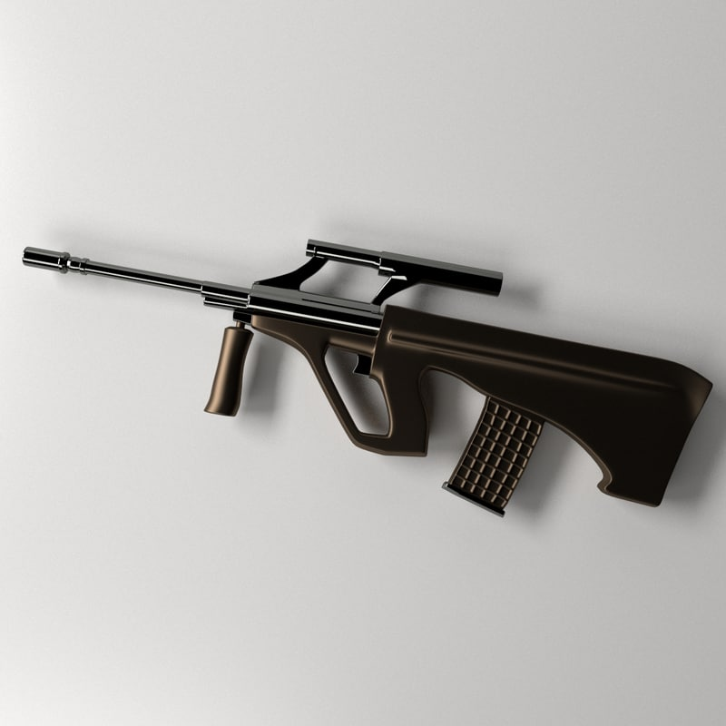 3ds max steyr aug
