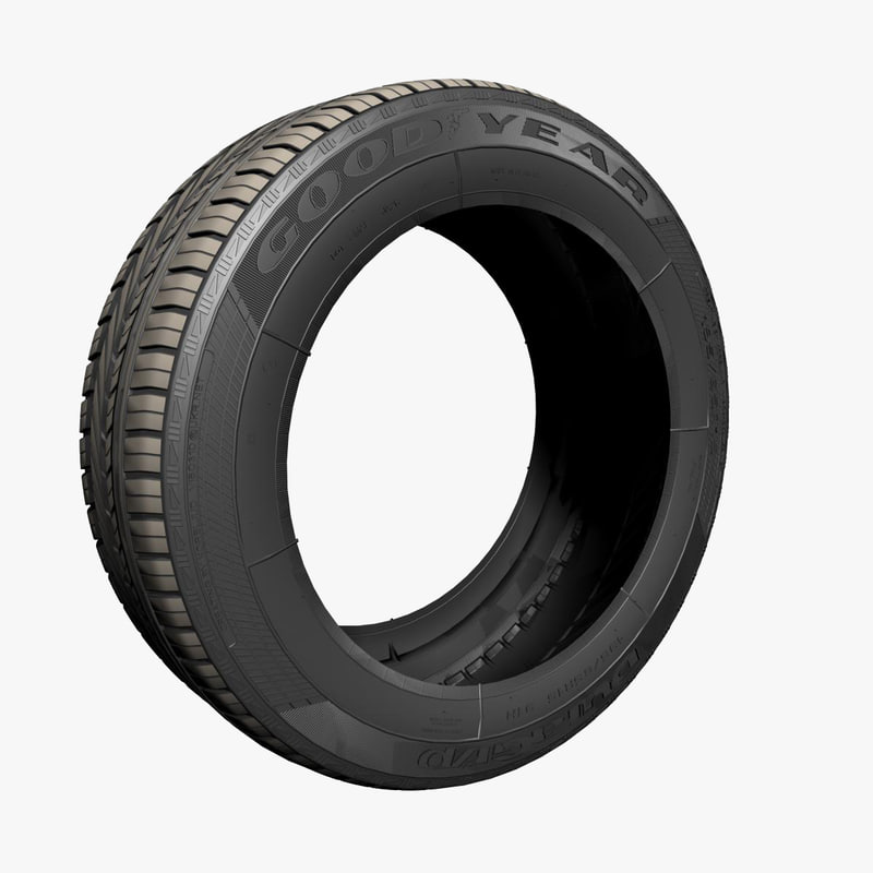 3ds max good year tires