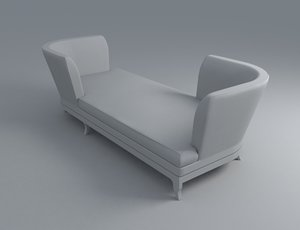 couch sofa tete 3d model
