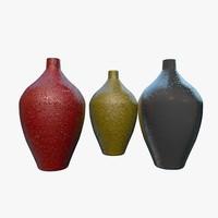 decorative vases 3d model