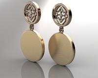 3d model earring-