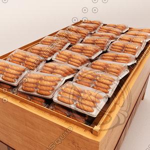 3d bread shelf