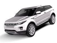 Range Rover Evoque 3-door 2012-2015 white
