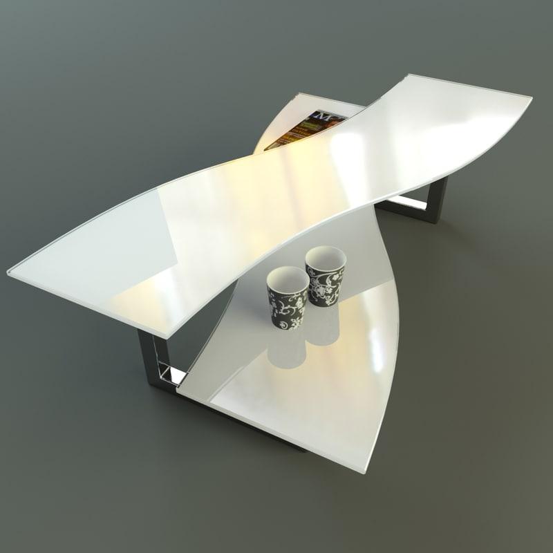 3d model missouri coffee table factory