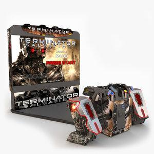 3dsmax terminator