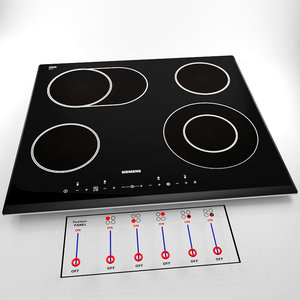 cooking panel 3d model