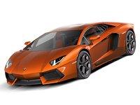 Lamborghini Aventador 2012-2015 supercar