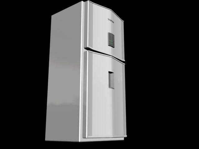 3d whirpool refrigerator