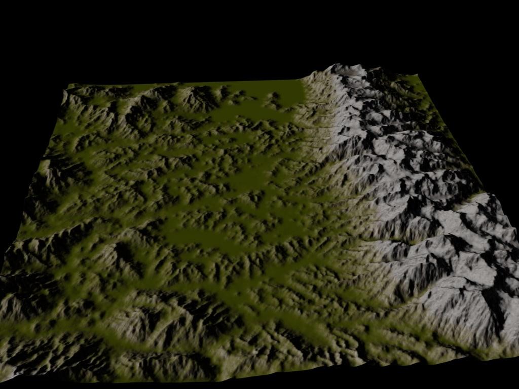 alpine scenes terrain max