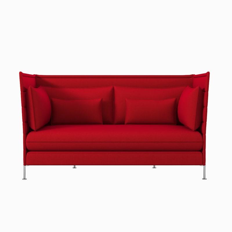 3d alcove sofa vitra