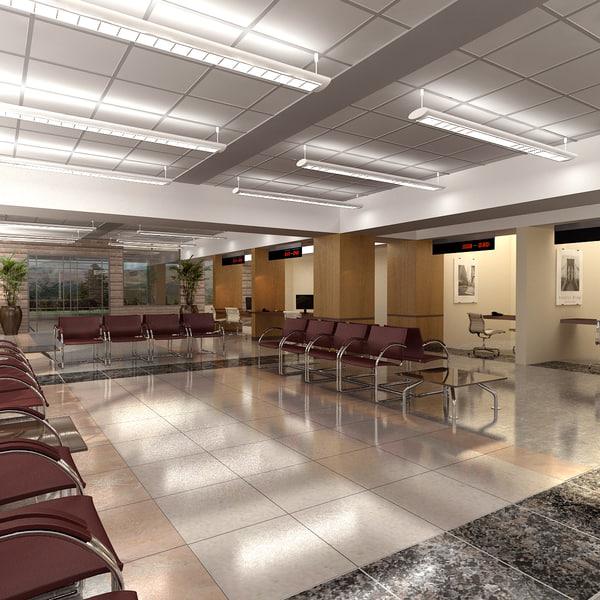 hospital waiting room max
