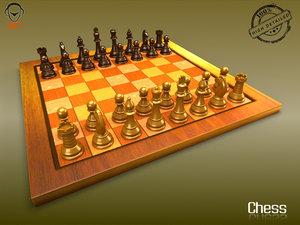 max realistic chess board