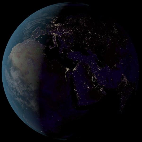 3d photorealistic earth model