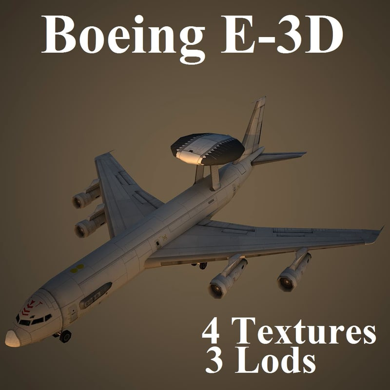 3d model boeing 3