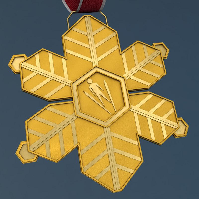 3d gold medal sport