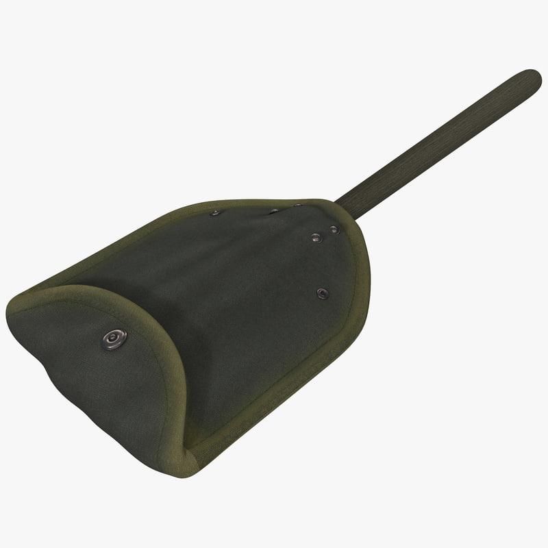 3ds max military shovel