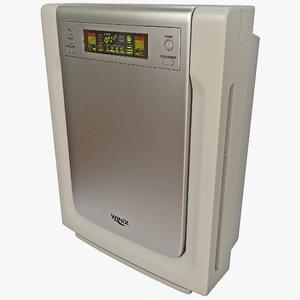pet air cleaner winix 3d max