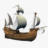 caravel animation sea max