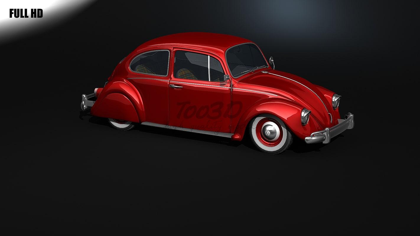 3d beetle model