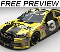 free 3ds model preview nascar 2016