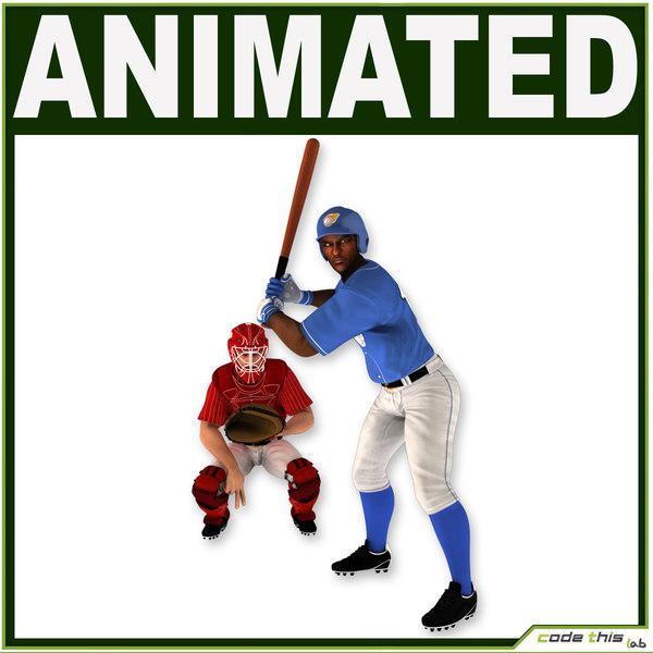 catcher batter obj