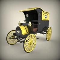 1908 Chase Highwheeler Delivery