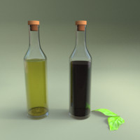 3ds max oil vinegar