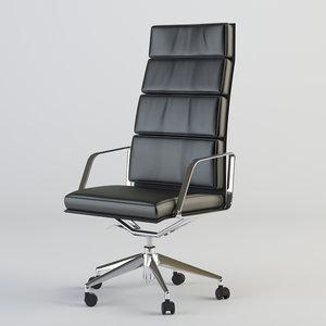 3d obj office armchair