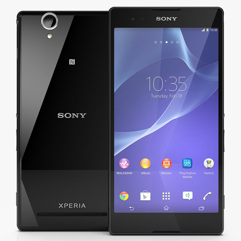 3d model sony xperia t2 ultra