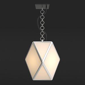 free pendant light muse 3d model