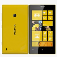 nokia lumia 520 3d 3ds