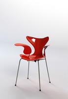 3d contemporary armchair chair