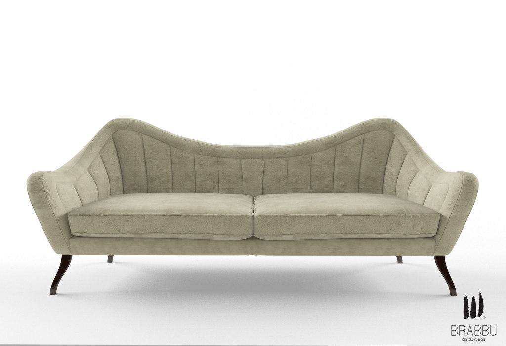 3d brabbu hermes sofa
