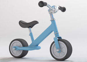 kids scooter 3d max