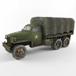 3d model studebaker us6