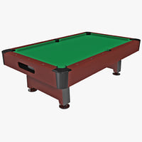 billiard table 2 3d 3ds