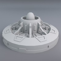 3d greeble attitude thruster model
