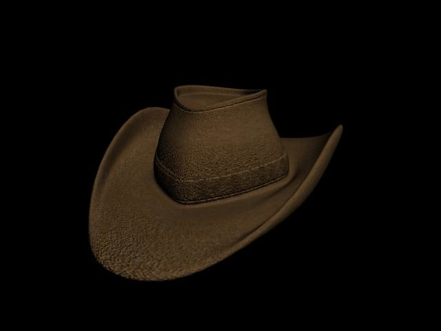 3d hat clothing model